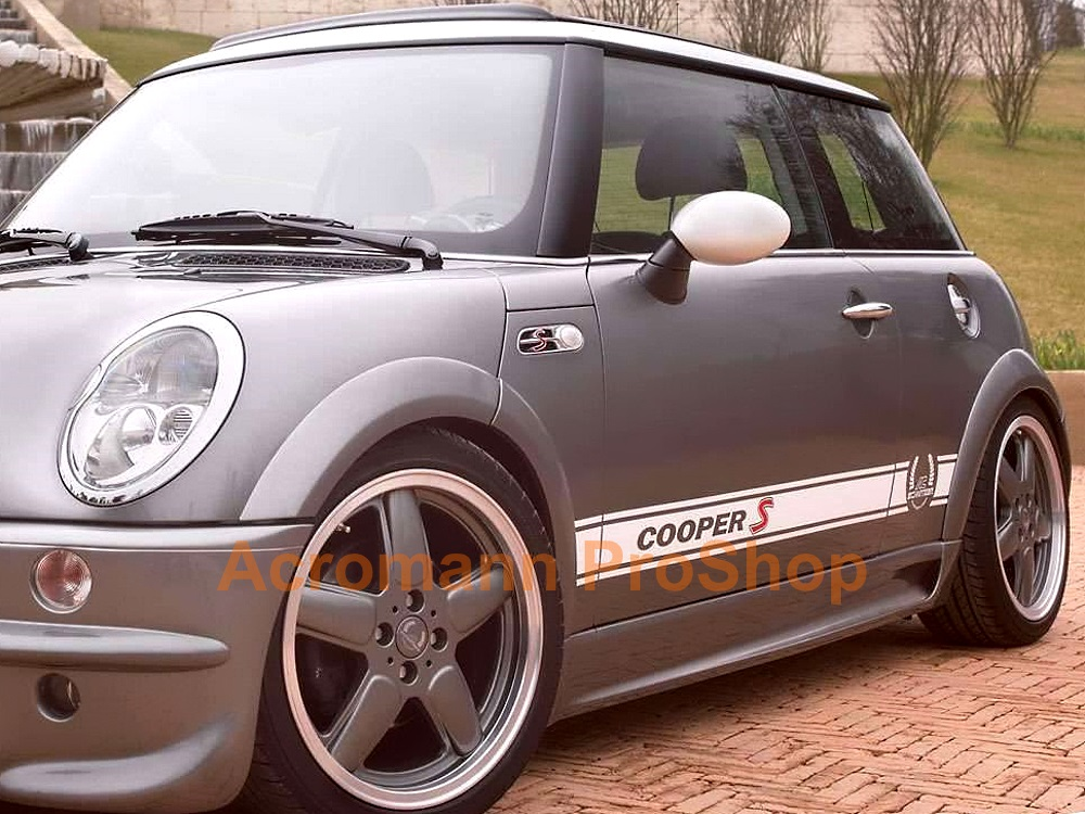 AC Schnitzer Mini Cooper S Side Stripe Decal (Style#2) x 1 pair